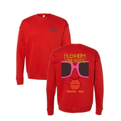 2019 Painted Red Crew Sweatshirt