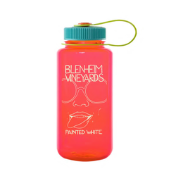 2019 Painted White Nalgene Bottle