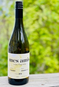2018 Mes Amis Chardonnay by Joy Ting